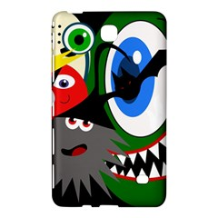 Halloween Monsters Samsung Galaxy Tab 4 (7 ) Hardshell Case  by Valentinaart