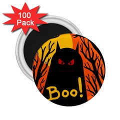 Halloween Monster 2 25  Magnets (100 Pack)  by Valentinaart