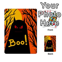 Halloween Monster Multi Purpose Cards (rectangle)  by Valentinaart