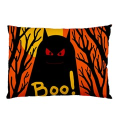 Halloween Monster Pillow Case (two Sides) by Valentinaart