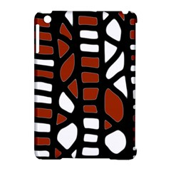 Red Decor Apple Ipad Mini Hardshell Case (compatible With Smart Cover)