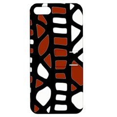 Red Decor Apple Iphone 5 Hardshell Case With Stand