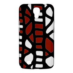 Red Decor Samsung Galaxy Mega 6 3  I9200 Hardshell Case