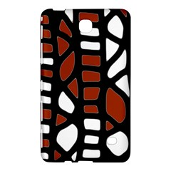 Red Decor Samsung Galaxy Tab 4 (8 ) Hardshell Case