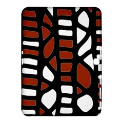 Red Decor Samsung Galaxy Tab 4 (10 1 ) Hardshell Case