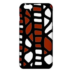 Red Decor Iphone 6 Plus/6s Plus Tpu Case by Valentinaart