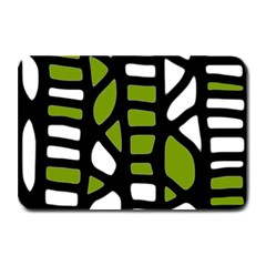 Green Decor Plate Mats by Valentinaart