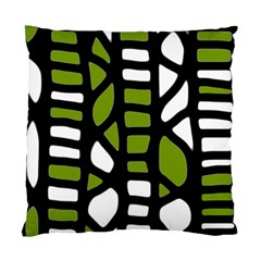Green Decor Standard Cushion Case (one Side) by Valentinaart