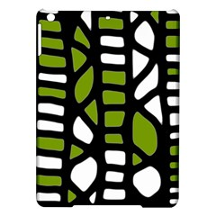 Green Decor Ipad Air Hardshell Cases by Valentinaart