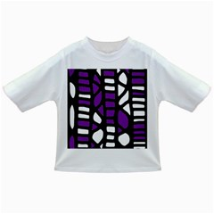 Purple Decor Infant/toddler T Shirts by Valentinaart