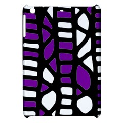 Purple Decor Apple Ipad Mini Hardshell Case by Valentinaart