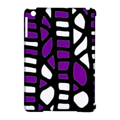 Purple Decor Apple Ipad Mini Hardshell Case (compatible With Smart Cover) by Valentinaart