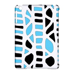 Light Blue Decor Apple Ipad Mini Hardshell Case (compatible With Smart Cover) by Valentinaart