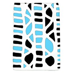 Light Blue Decor Flap Covers (l)  by Valentinaart