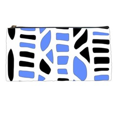 Blue Decor Pencil Cases by Valentinaart