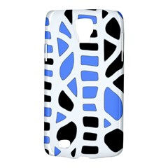 Blue Decor Galaxy S4 Active by Valentinaart