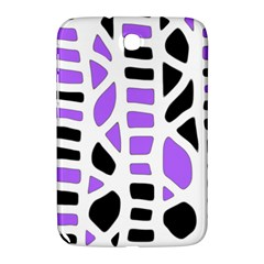 Purple Abstract Decor Samsung Galaxy Note 8 0 N5100 Hardshell Case  by Valentinaart