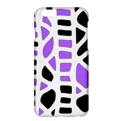 Purple Abstract Decor Apple Iphone 6 Plus/6s Plus Hardshell Case by Valentinaart