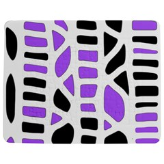 Purple Abstract Decor Jigsaw Puzzle Photo Stand (rectangular) by Valentinaart