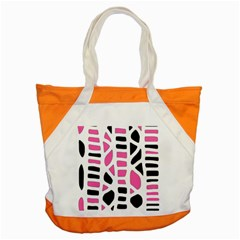 Pink Decor Accent Tote Bag by Valentinaart