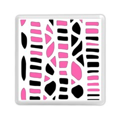 Pink Decor Memory Card Reader (square)