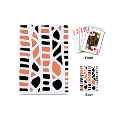 Orange Decor Playing Cards (mini)  by Valentinaart