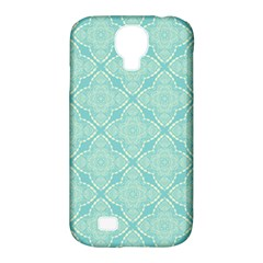 Light Blue Lattice Pattern Samsung Galaxy S4 Classic Hardshell Case (pc+silicone) by TanyaDraws
