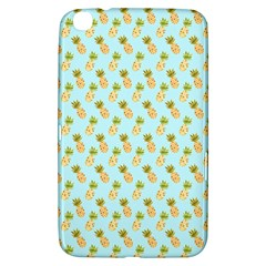 Tropical Watercolour Pineapple Pattern Samsung Galaxy Tab 3 (8 ) T3100 Hardshell Case  by TanyaDraws