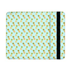 Tropical Watercolour Pineapple Pattern Samsung Galaxy Tab Pro 8 4  Flip Case by TanyaDraws