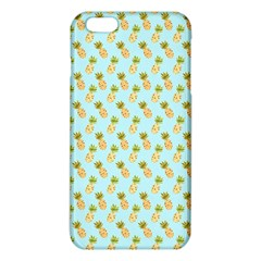 Tropical Watercolour Pineapple Pattern Iphone 6 Plus/6s Plus Tpu Case by TanyaDraws
