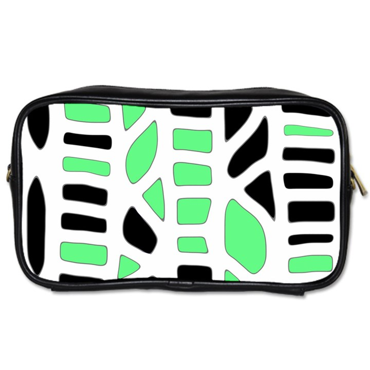 Light green decor Toiletries Bags 2-Side