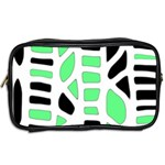 Light green decor Toiletries Bags 2-Side Back
