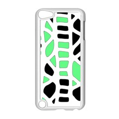 Light Green Decor Apple Ipod Touch 5 Case (white) by Valentinaart
