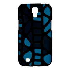 Deep Blue Decor Samsung Galaxy Mega 6 3  I9200 Hardshell Case by Valentinaart