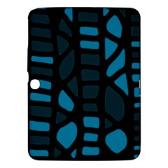 Deep Blue Decor Samsung Galaxy Tab 3 (10 1 ) P5200 Hardshell Case  by Valentinaart