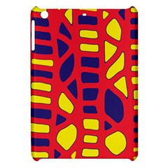 Red, Yellow And Blue Decor Apple Ipad Mini Hardshell Case by Valentinaart