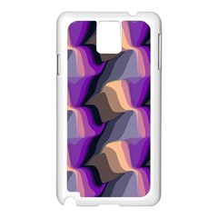 Wavy Pattern                                                                                          			samsung Galaxy Note 3 N9005 Case (white) by LalyLauraFLM