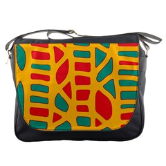 Abstract Decor Messenger Bags by Valentinaart