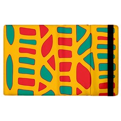 Abstract Decor Apple Ipad 2 Flip Case by Valentinaart