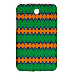 Orange Green Chains                                                                                           			samsung Galaxy Tab 3 (7 ) P3200 Hardshell Case by LalyLauraFLM