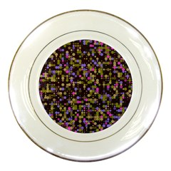 Dots                                                                                             			porcelain Plate by LalyLauraFLM