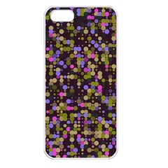 Dots                                                                                            			apple Iphone 5 Seamless Case (white) by LalyLauraFLM