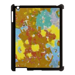 Paint Strokes                                                                                              			apple Ipad 3/4 Case (black) by LalyLauraFLM