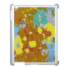 Paint Strokes                                                                                              			apple Ipad 3/4 Case (white) by LalyLauraFLM