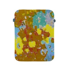 Paint Strokes                                                                                              			apple Ipad 2/3/4 Protective Soft Case by LalyLauraFLM