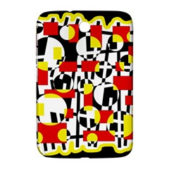 Red And Yellow Chaos Samsung Galaxy Note 8 0 N5100 Hardshell Case  by Valentinaart