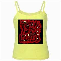 Red Yellow Spaghetti Tank
