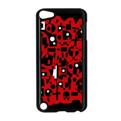 Red Apple Ipod Touch 5 Case (black) by Valentinaart