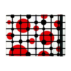 Red Circles Ipad Mini 2 Flip Cases by Valentinaart