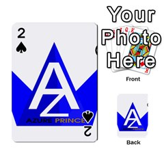 Azure Prince Playing Cards 54 Designs